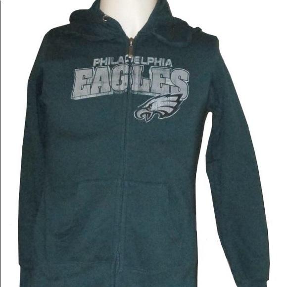 best website 5a23b 59649 Ladies Philadelphia Eagles zip up hoodie sz lg